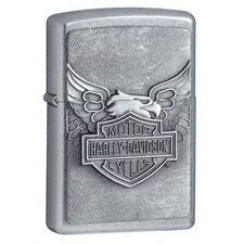 60001210 Zippo Feuerzeug Harley Davidson Emblem