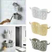 Kitchen Bathroom Sponge Sink Tidy Holder Suction Strainer Basket Organizer P3L6