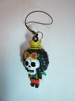 One Piece Brook minifig figure cel phone charm anime pirate skeleton skull cute!