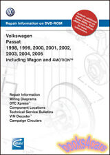 VW PASSAT SHOP MANUAL SERVICE REPAIR BOOK ROBERT BENTLEY DVD DISC W8 4motion AWD
