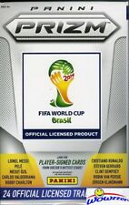 (3) World Cup 2014 Panini Prizm HOBBY Hanger Boxes-Look for $2000 Autographs !!