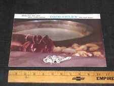 1969 WOLSELEY Car Catalog Sales Brochure