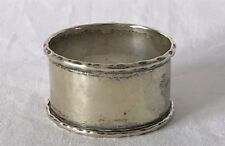 Vintage Single EPNS Silver Plate Napkin Ring with Extensive Brassing