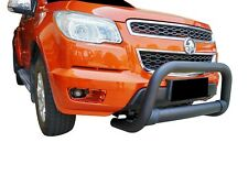 Black Nudge Bar Bullbar Bumper Guard for Holden Colorado RG 12-19 C