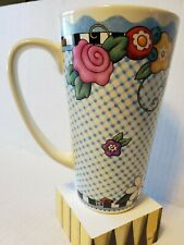 """Mary Engelbreit 5-3/4"""" Tall Coffee Mug - Pour yourself a cup of kindness McMeel"""