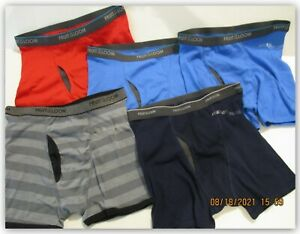 Fruit of the Loom boys XLARGE Cotton stretch boxer Briefs 5 Pair NO PACKAGE