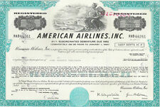 American Airlines, Inc., 1980s, Debenture, airport-vignette