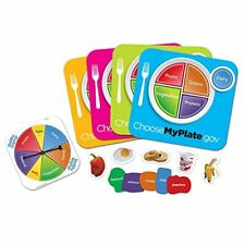 NEW Learning Resources Healthy Helpings A Myplate Game FREE2DAYSHIP TAXFREE