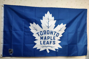 Toronto Maple Leafs Flag 3X5 FT NHL Banner Polyester