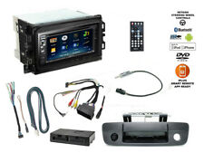 Double DIN Bluetooth USB Stereo+Backup Camera+13-17 Dodge Ram Car Radio Dash Kit