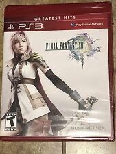 Brand New Sealed Rare Final Fantasy XIII 13 Sony PlayStation 3 PS3 Greatest Hits