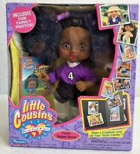 "Little Cousins 8"" Black Doll Playmates Syndey Soccer New"