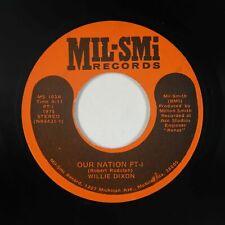 Deep Soul 45 - Willie Dixon - Our Nation - Mil-Smi - mp3