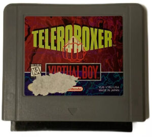 Nintendo Virtual Boy Teleroboxer (us) Cartridge