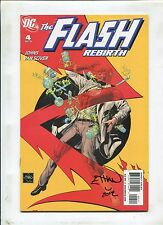The Flash Rebirth #4 ~ Signed By Ethan Van Sciver ~ (Grade 9.2 Ob)Wh