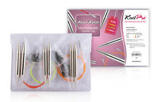 Knitpro Nova Metal Needles Interchangeable Chunky Set