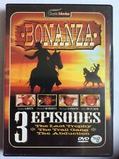 DVD : Bonanza (3 episodes) ... DUTCH
