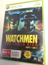 * Xbox 360 NEW SEALED Game * WATCHMEN The End is Nigh - Parts 1 and 2