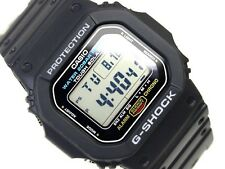 CASIO G-SHOCK, G5600E-1 G-5600E-1DR, TOUGH SOLAR, DIGITAL, BLACK, BASIC, UNISEX