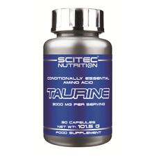 (10,66 EUR/100 g) Scitec Nutrition Taurine 90 Kapseln a 1120mg NEU