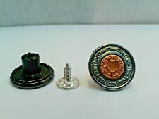 Jeans Buttons17mm Hammer On Antique/ Bronze Centre High Quality