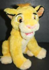 "Disney Roaring & Talking Simba The Lion King Plush Stuffed Animal Lion Cub 13"""