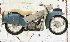 Velocette LE Mark3 1960 Aged Vintage SIGN A4 Retro