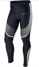 Potenza Nike velocità Compressione Leggings Bianco 717750 013 taglia XXL nuova con etichetta