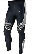Nike Power Speed Compression Leggings White 717750 013 Size L BNWT