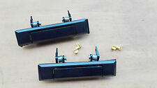 TOYOTA HILUX 4RUNNER 1984-88 FRONT OUTSIDE DOOR HANDLE A PAIR Black