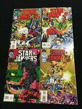 Star Jammers # 1 -4 - X-men - Marvel Comics