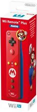 GUT: Wii U Remote Plus Mario Edition, rot
