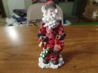 "Alco Resin Santa Claus Figurine-5 1/2"" Tall #1805"
