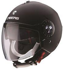 Casco Demi Jet Caberg Riviera V3 17 Nero opaco Helmets casque capacete S