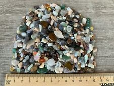 Tumbled Mix Semi Tumbled Gemstone Mini Chips 5 - 15 mm, Wholesale Bulk Lot