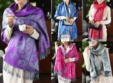 WHOLESALE BULK LOT OF 10 MIXED STYLE Pashmina Large Warp SCARF/SHAWL SC080 081