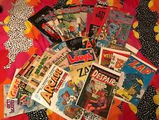 Lot Of Vintage Comics (ZAP, ARCADE, OMAHA, SF UNDERGROUND, ARCHIE, RITCHIE RICH)