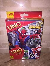 Marvel Spider Man Uno Card Game In Collectors Tin