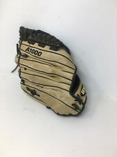 "Wilson A1000 SP13 All Positions Softball Glove RH Throw 13"" Light Tan Black"