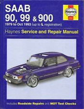 SAAB 90 99 900 (INCL TURBO & CABRIOLET ) 1979-93 SERVICE & REPAIR MANUAL * VGC *