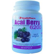 60 Kapseln BRAZILIAN ACAI BERRY = 21000 mg + GRÜNE TEE Extrakt Fettverbrennung !
