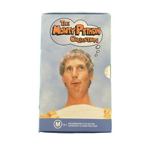 The Monty Python Collection VHS Life Of Brian Holy Grail The Hollywood Bowl