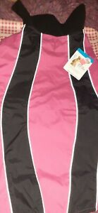 Nwt Lg/Xlg Pink and Black Dog Reflective Sport Jacket Fleece Lined Petco