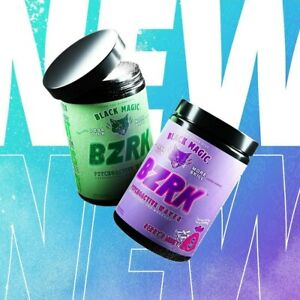 Black Magic Supply Limited Edition Bzrk Pre-Workout Berry'd Money & Money Mojito