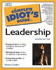 The Complete Idiot's Guide to Leadership (2nd Edition)-ExLibrary