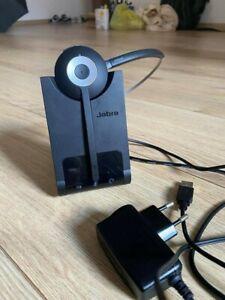 Jabra Pro 930 MS Mono DECT-Headset mit USB für PC/Softphones, Noise-Cancelling,