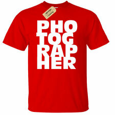 Mens Photographer Gift Tee Photography T-Shirt Camera