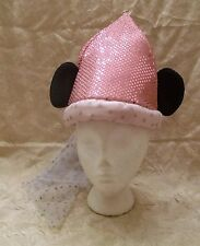 Walt Disney World Princess Child Size Cone Hat with Mickey Mouse Ears and Veil