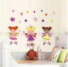 Cute Fairy Angel Wall decals Removable sticker home art kids nursery baby decor