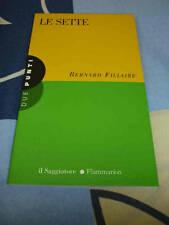 Le sette Bernard Fillaire